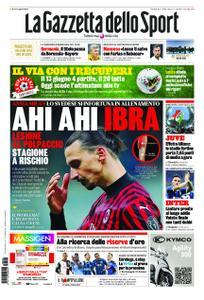La Gazzetta dello Sport Sicilia – 26 maggio 2020
