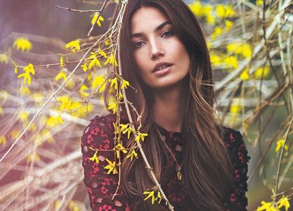 Lily Aldridge by David Bellemere for Vogue Turkey July 2015