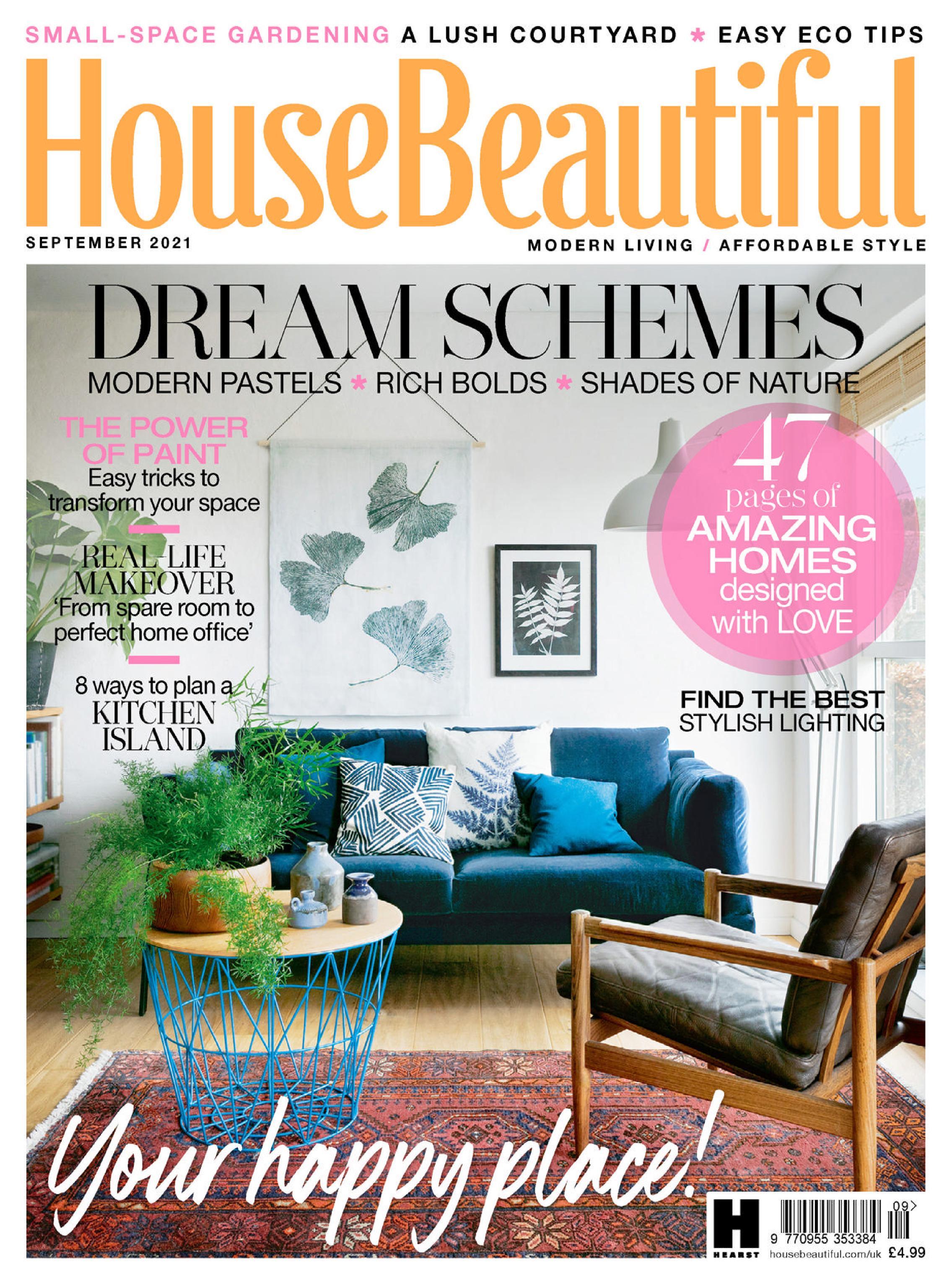 House Beautiful UK - September 2021