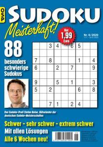 Sudoku Meisterhaft Nr.6 - 17 Juli 2020