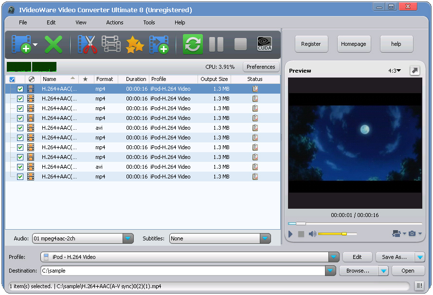 IVideoWare Video Converter 8.0.2 Multilanguage