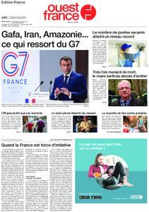 Ouest-France Édition France – 27 août 2019