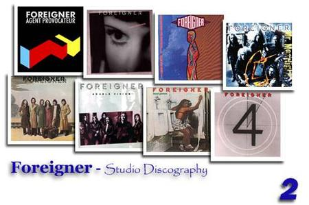 Foreigner - Studio Discography (set 02)