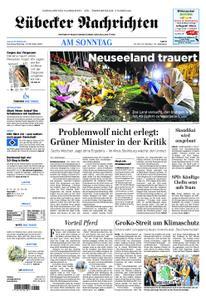 Lübecker Nachrichten Ostholstein Süd - 17. März 2019