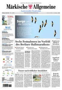 Märkische Allgemeine Luckenwalder Rundschau - 09. April 2018