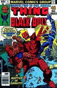 Marvel Two-In-One v1 Annual 004 Black Bolt 1979