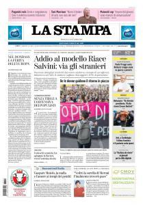 La Stampa Torino Provincia e Canavese - 14 Ottobre 2018