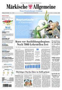 Neue Oranienburger Zeitung - 30. Juli 2018