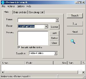 Effective File Search v3.9