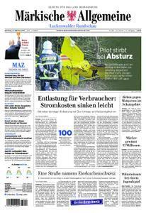 Märkische Allgemeine Luckenwalder Rundschau - 17. Oktober 2017
