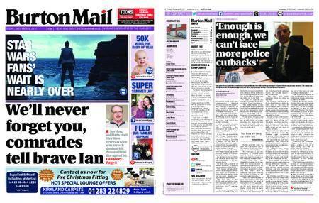 Burton Mail – December 08, 2017
