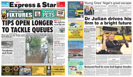 Express and Star City Edition – June 14, 2019