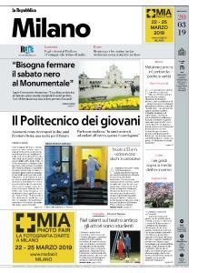 la Repubblica Milano - 20 Marzo 2019