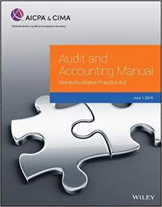 Audit and Accounting Manual: Nonauthoritative Practice Aid, 2019