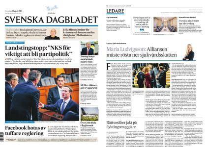 Svenska Dagbladet – 12 april 2018