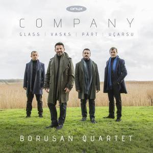 Borusan Quartet - Company: Glass, Part, Ucarsu, Vasks (2017)