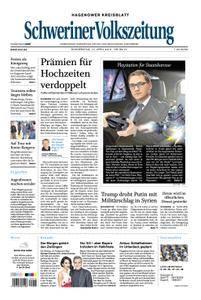 Schweriner Volkszeitung Hagenower Kreisblatt - 12. April 2018