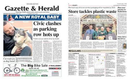 Gazette & Herald – May 03, 2018