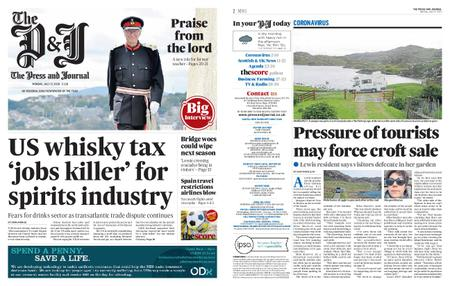The Press and Journal Moray – July 27, 2020