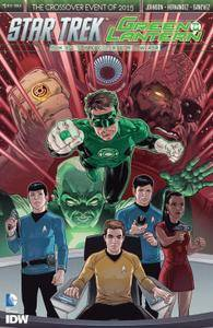 Star Trek Green Lantern The Spectrum Wars 0012015 5 covers Digi-Hybrid