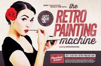 GraphicRiver - The Retro-Painting Machine