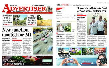 The Herts Advertiser – August 02, 2018