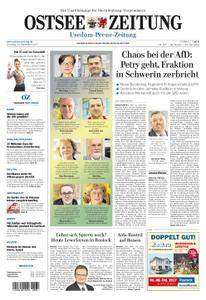 Ostsee Zeitung Wolgast - 26. September 2017