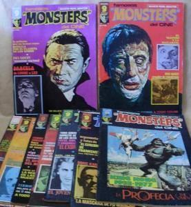 "Famosos ""monsters"" del cine #1-24"
