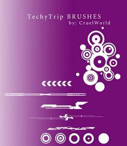 TechyTrip Brushes