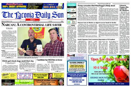 The Laconia Daily Sun – October 19, 2018
