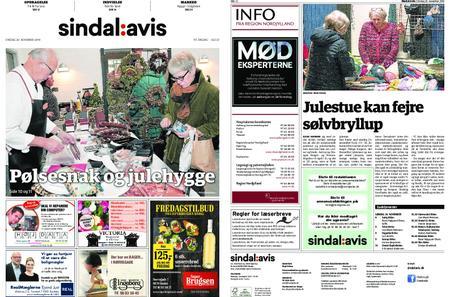 Sindal Avis – 20. november 2019