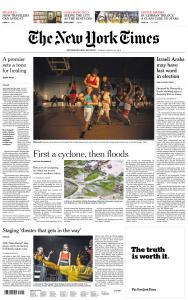 International New York Times - 22 March 2019
