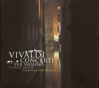 Vivaldi: Concerti Per Violino / Deuter, Waisman, Harmonie Universelle