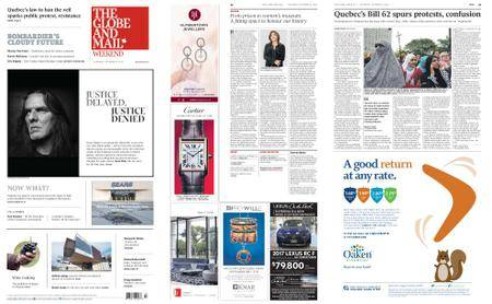 The Globe and Mail – October 21, 2017