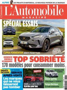 L'Automobile Magazine - Novembre 2020
