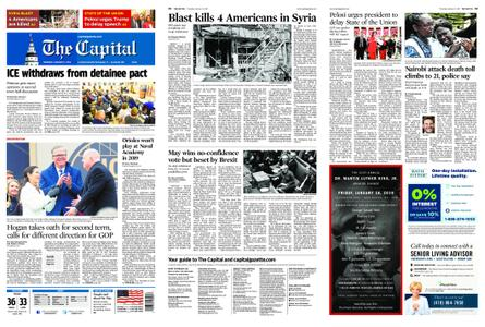 The Capital – January 17, 2019