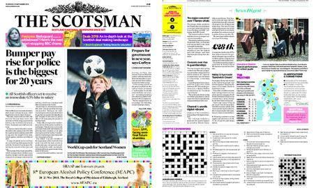The Scotsman – September 27, 2018