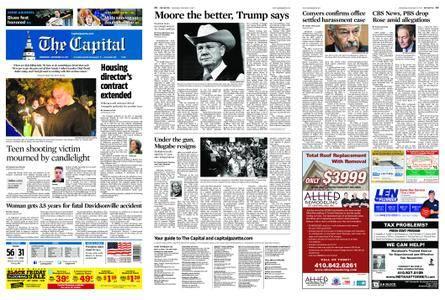 The Capital – November 22, 2017