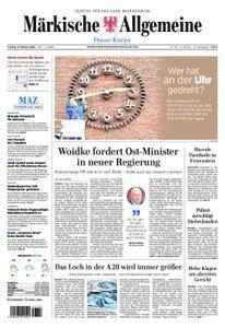 Märkische Allgemeine Dosse Kurier - 09. Februar 2018