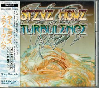 Steve Howe - Turbulence (1991) {Japan 1st press}
