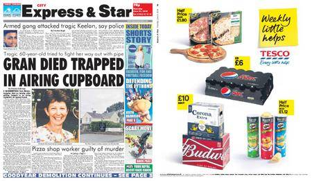 Express and Star City Edition – June 21, 2018