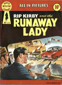 Super-Detective Library 126-Rip Kirby and the Runaway Lady
