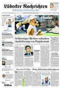 Lübecker Nachrichten Ostholstein Süd - 13. Juli 2018