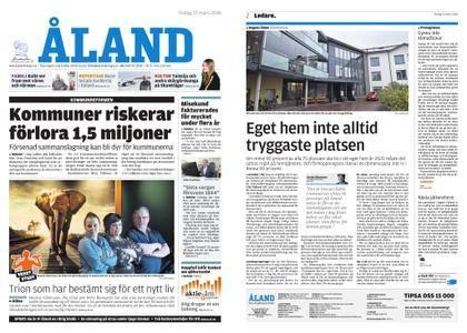 Ålandstidningen – 27 mars 2018