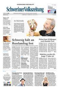 Schweriner Volkszeitung Hagenower Kreisblatt - 27. März 2018