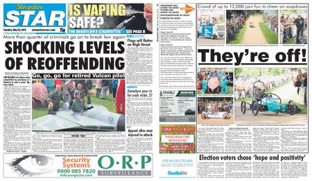 Shropshire Star Shrewsbury Edition – May 28, 2019