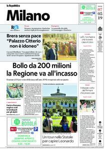 la Repubblica Milano – 07 maggio 2019