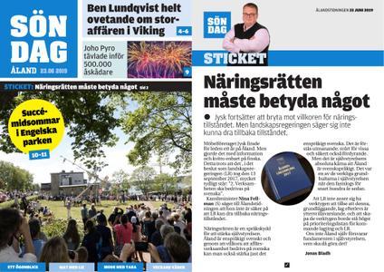 Ålandstidningen – 23 juni 2019