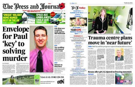 The Press and Journal Moray – November 07, 2017