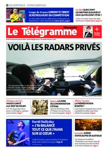 Le Télégramme Concarneau – 05 janvier 2020